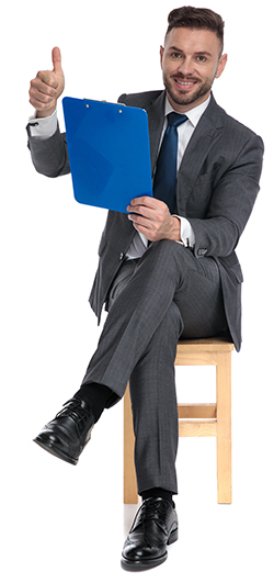 Business Man Sits - Thumbs Up - 250x531.jpg