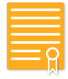 Certificate Gold With Ribbon 235x271.jpg