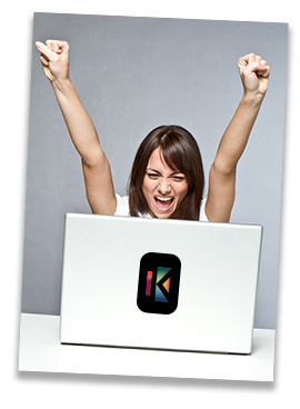 Laptop Girl Arms Up With Kryterion Logo.jpg