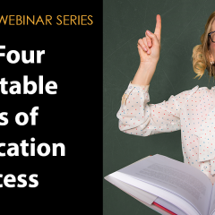 Image To Promote Webinar: The Four Immutable Laws of Certification Success