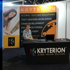 Kryterion at EduTECH 2019 in Stand 1041