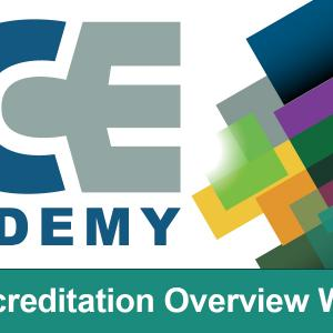 Header image for ICE NCCA Accreditation Workshop