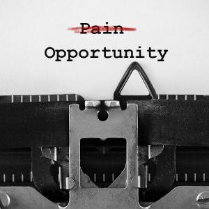 Header Image - Typewriter Pain to Opportunity